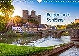 Mittelhessens Burgen und Schlösser (Wandkalender 2020 DIN A4 quer): 13 farbenfrohe romantische Ansichten von Mittelhessens Burgen- und Schlösserwelt (Monatskalender, 14 Seiten ) (CALVENDO Orte)