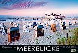 Meerblicke - Nord- und Ostsee 214519 2019: Großer Foto-Wandkalender von der Küste und dem Meer in Deutschland. Edler schwarzer Hintergrund und Foliendeckblatt. PhotoArt Panorama Querformat: 58x39 cm.