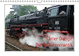 Unter Dampf - Dampflokromantik (Wandkalender 2019 DIN A4 quer): Feuer - Wasser - Kohle - Volldampf-Emotionen! (Monatskalender, 14 Seiten ) (CALVENDO Technologie)