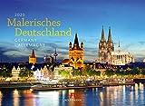 Malerisches Deutschland 2020, Wandkalender im Querformat (45x33 cm) - Landschaftskalender / Naturkalender / Sehenswürdigkeiten mit Monatskalendarium