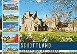 Schottlands Burgen und Schlösser (Wandkalender 2019 DIN A4 quer): Schottland: Malerische Festungen und Ruinen (Monatskalender, 14 Seiten ) (CALVENDO Orte)