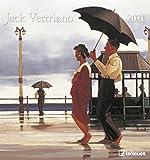 Jack Vettriano 2021 - Kunst-Kalender - Wand-Kalender - 45x48