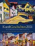 KunstGeschichten Kalender 2021, Wandkalender im Hochformat (50x66 cm) - Kunstkalender mit Fotografien der Originalschauplätze