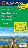 KOMPASS Wanderkarte Wörthersee - Klagenfurt am Wörthersee: Wanderkarte mit Aktiv Guide, Radrouten und Panorama. GPS-genau. 1:25000 (KOMPASS-Wanderkarten, Band 61)