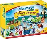 PLAYMOBIL Adventskalender 9391 Waldweihnacht der Tiere, Ab 1,5 Jahren