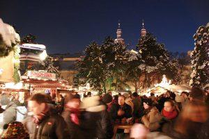 Weihnachtsdorf Unicampus/Altes AKH