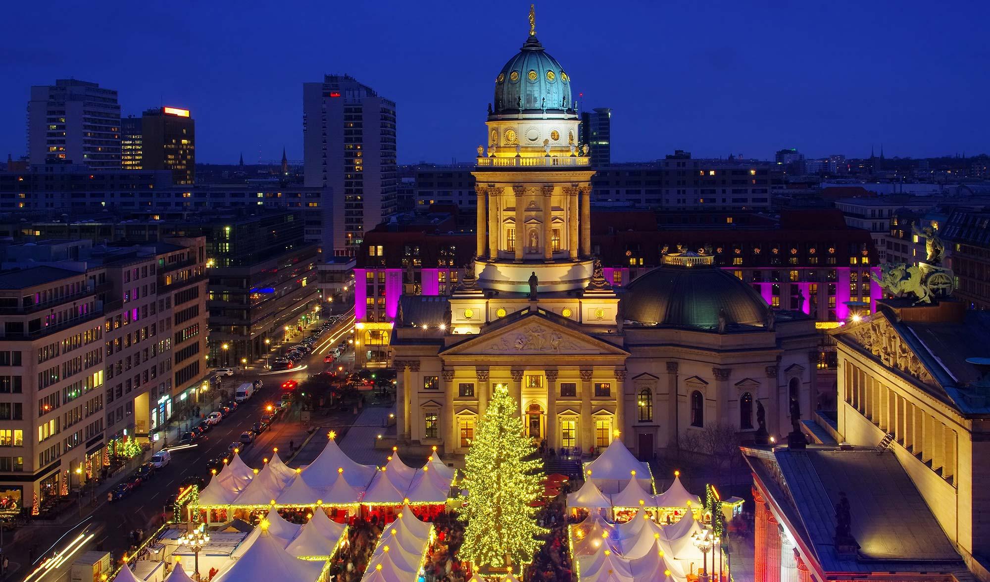 Weihnachtsmarkt Berlin Beginn.Weihnachtszauber Am Gendarmenmarkt Im Herzen Von Berlin