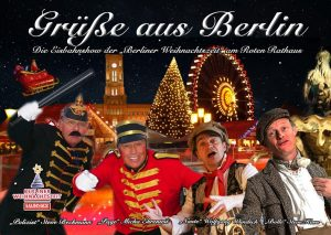 Berliner Weihnachtszeit am Rathaus