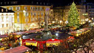 Weihnachtsmarkt in Bozen Italien