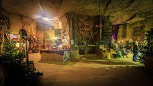 Weihnachten inder Fluweelengrotte in Valkenburg