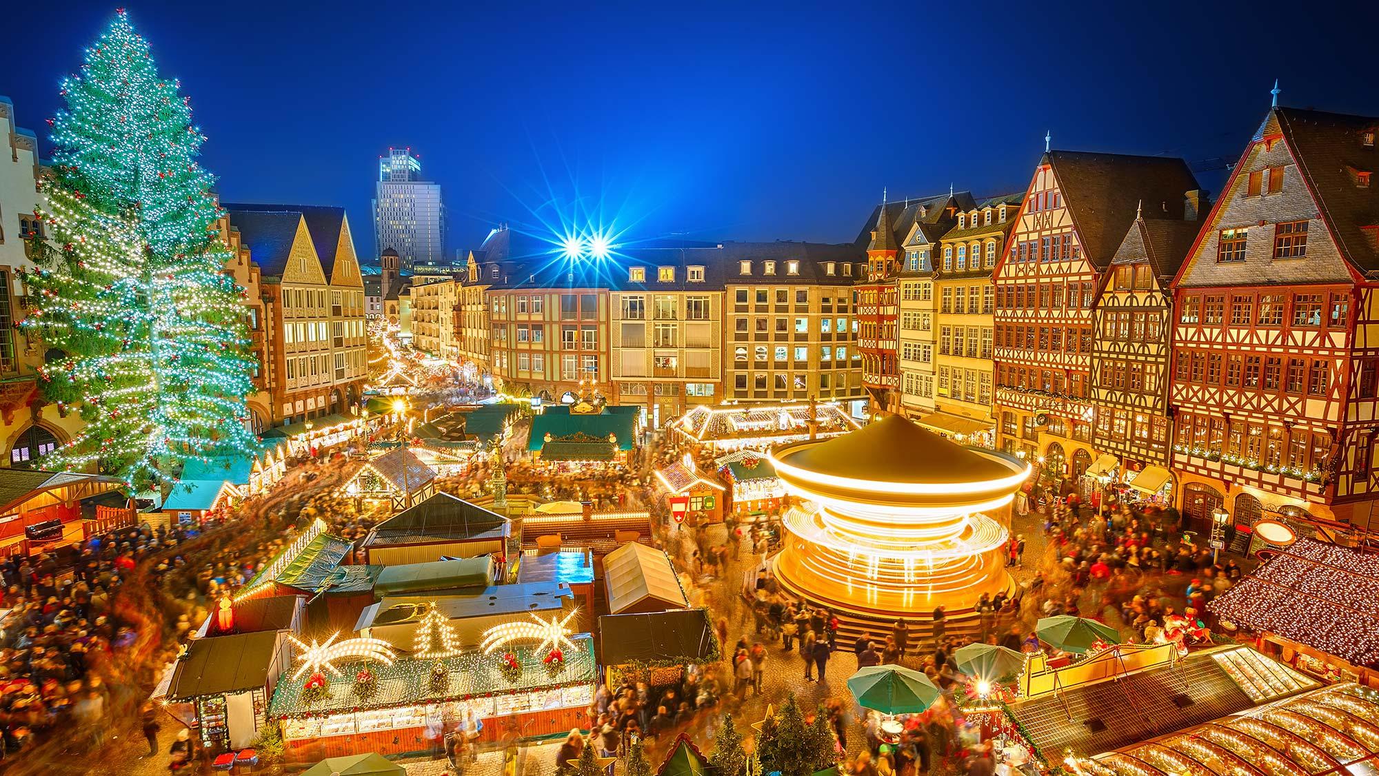 Weihnachtsmarkt Frankfurt - Weihnachten in Hessen
