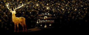 Goldenes Weihnachten