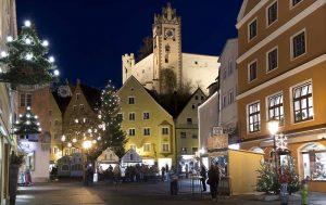Weihnachtsmarkt in Füssen