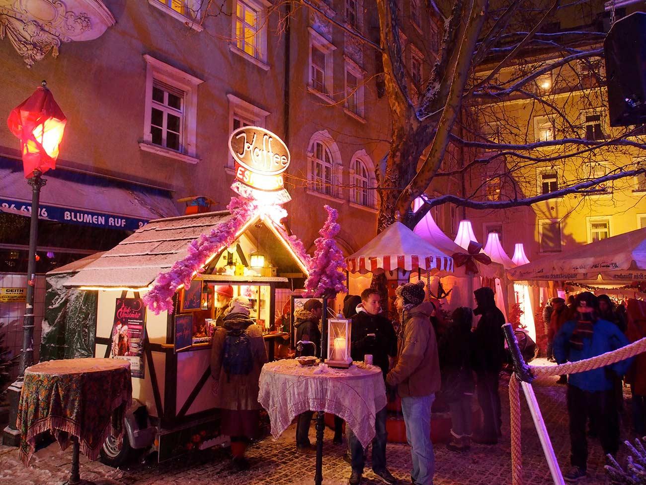 Pink Christmas am Stephansplatz - der etwas andere Weihnachtsmarkt