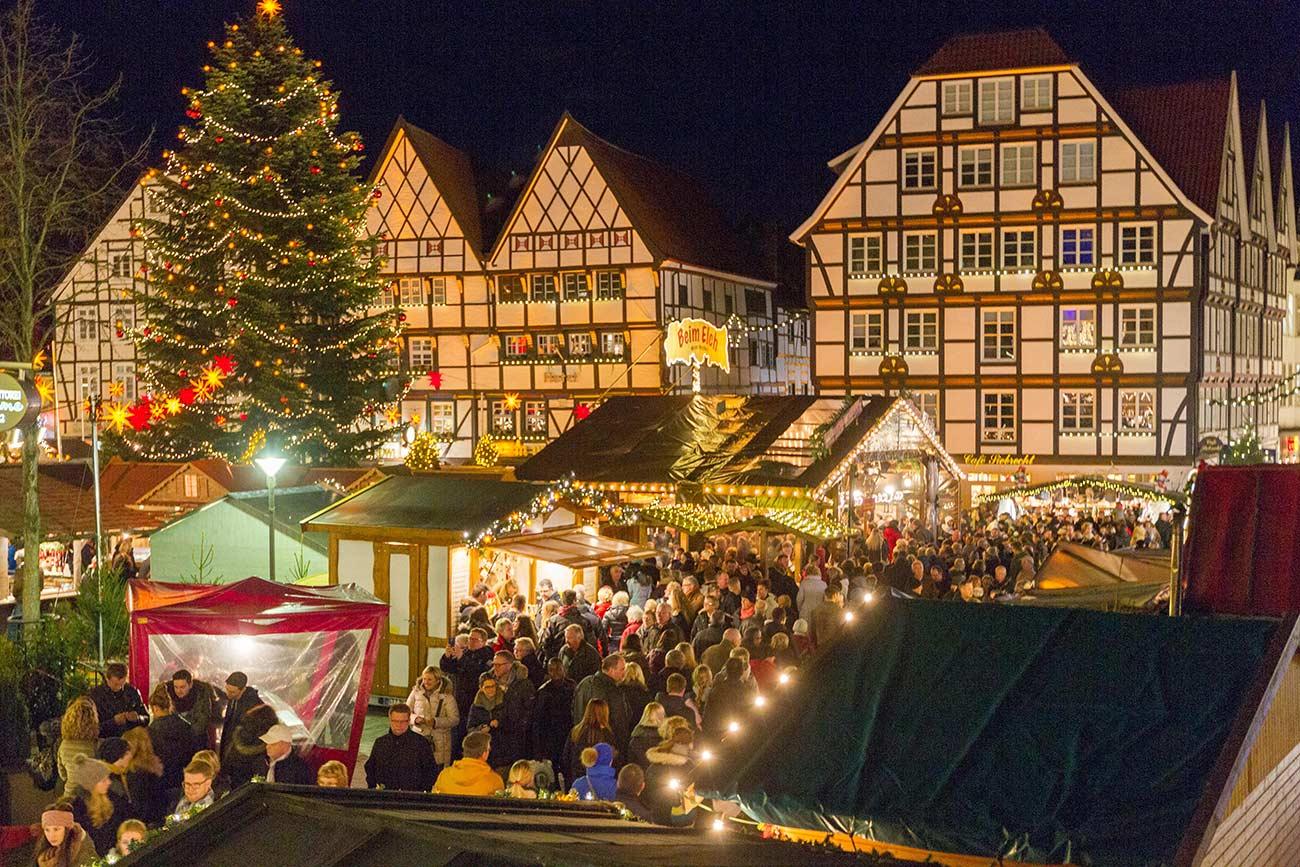Weihnachtsmarkt in Soest - Weihnachten in Nordrhein-Westfalen