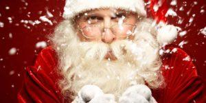 weihnachtsmann weihnachtsmarkt