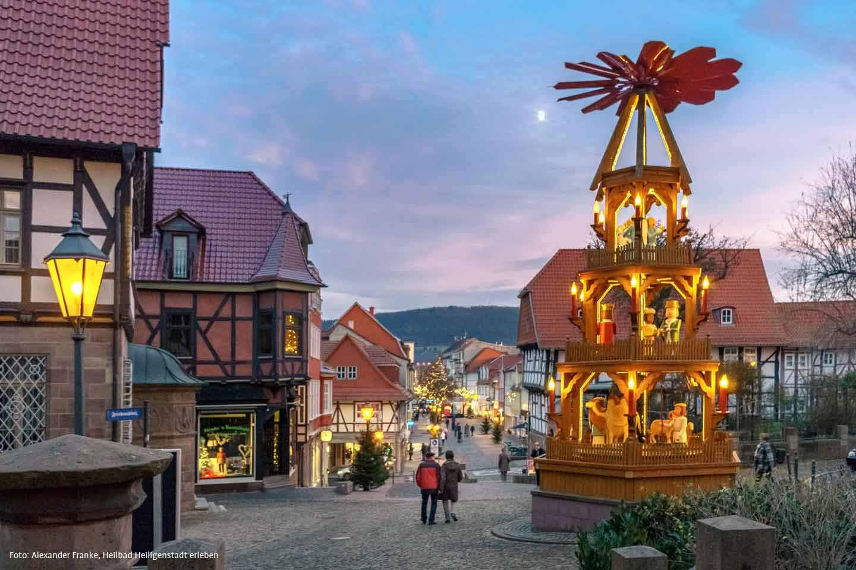 weihnachtsmarkt heilbad heiligenstadt weihnachten in. Black Bedroom Furniture Sets. Home Design Ideas