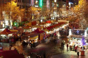 Prager Weihnachtsmarkt am Wenzelsplatz